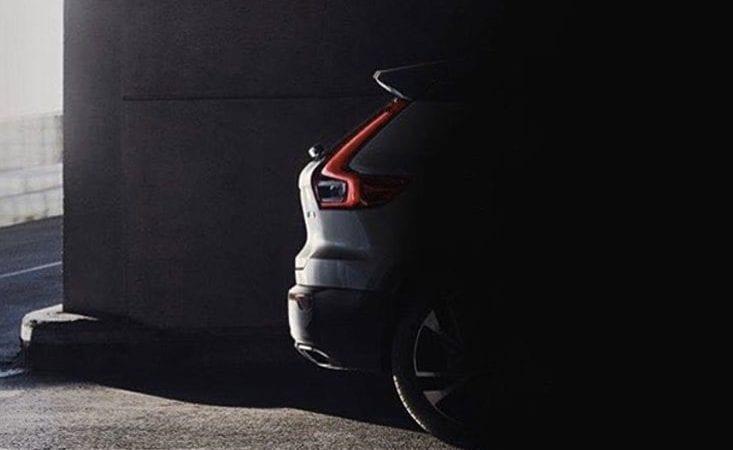 O imagine scăpată pe internet ne arată o parte din posteriorul viitorului Volvo XC40