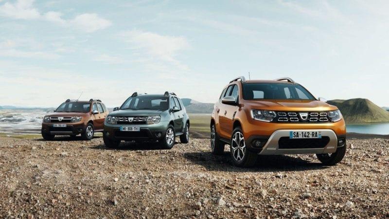 Dacia Duster, cel mai bine vândut SUV în România în 2018