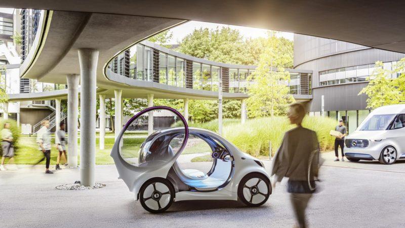 Smart Vision EQ Fortwo debutează în cadrul Salonului Auto de la Frankfurt