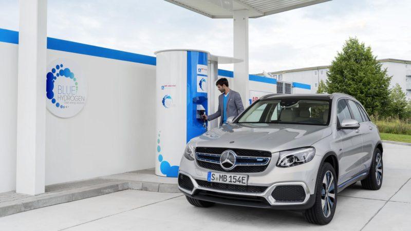 Mercedes-Benz a prezentat GLC F-Cell, o versiune de preproducție alimentată cu hidrogen și cu tehnologie plug-in hybrid