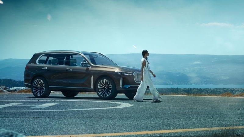 BMW Concept X7 iPerformance – Detalii și poze oficiale