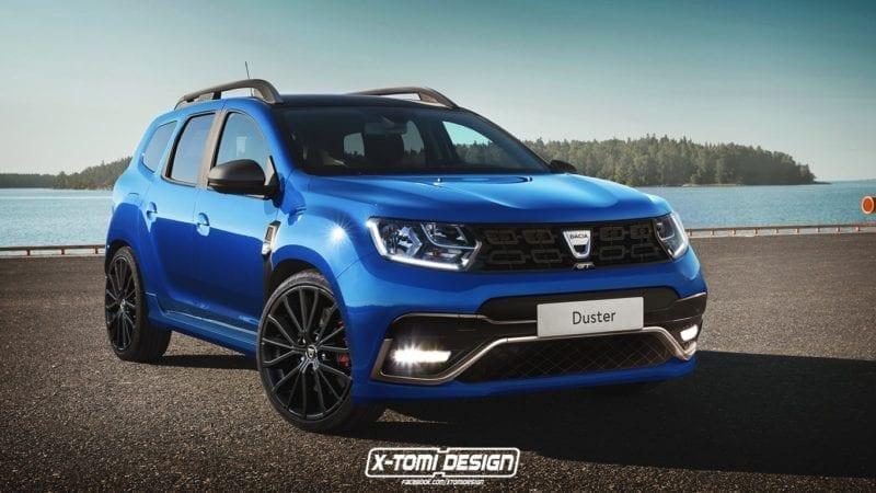 Dacia Duster imaginată într-o variantă sport