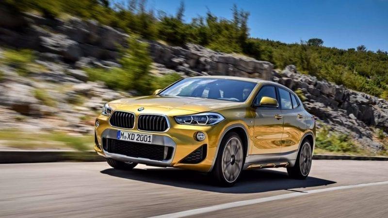 BMW a prezentat noul X2