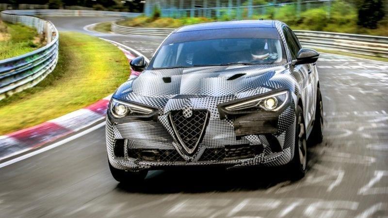 Alfa Romeo Stelvio Quadrifoglio este cel mai rapid SUV de serie de pe Nurburgring