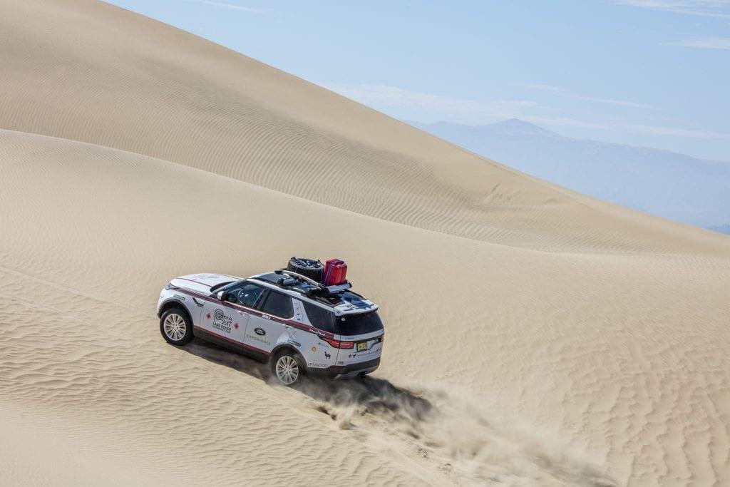 Goodyear partener oficial pentru anvelope în cadrul Land Rover Experience Tour Peru