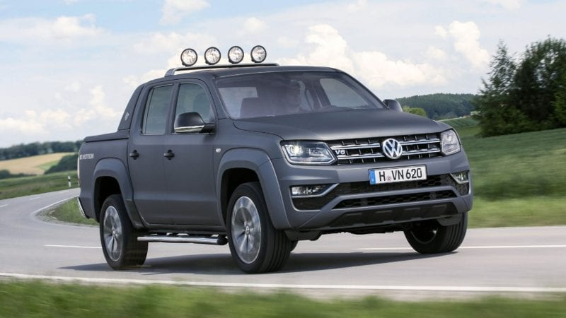 "Volkswagen Amarok câștigă ""International Pick-up Award 2018"""
