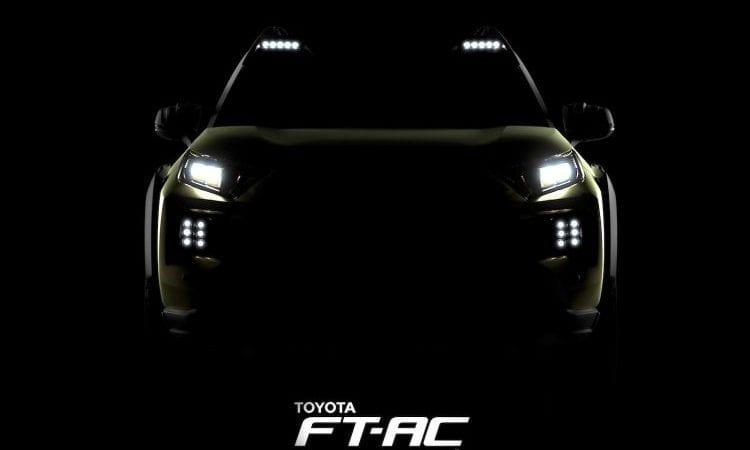 Primul teaser pentru conceptul Toyota Adventure
