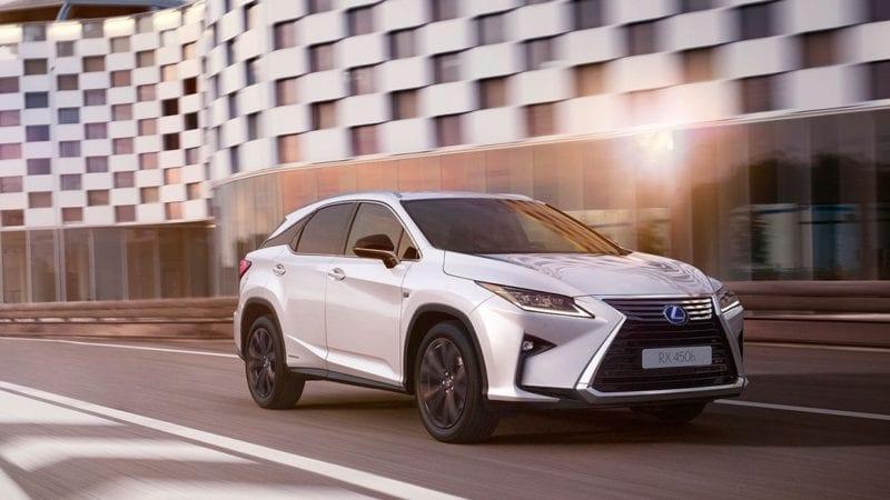 Lexus RX Sport – poze si detalii oficiale