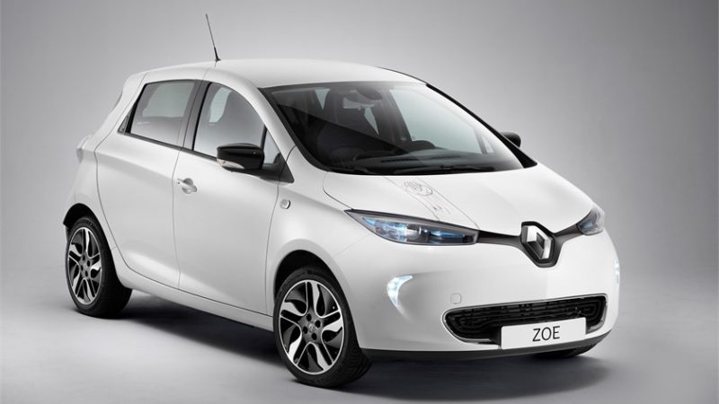 Renault a produs 100.000 de exemplare Zoe