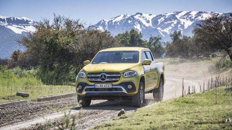 Mercedes-Benz Clasa X a debutat în România