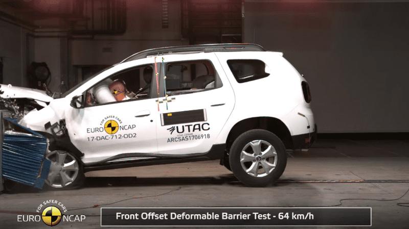 Dacia Duster a primit 3 stele EuroNCAP
