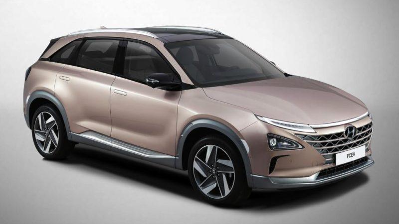 Hyundai aduce în Las Vegas un concept care funcționează cu pile de combustie