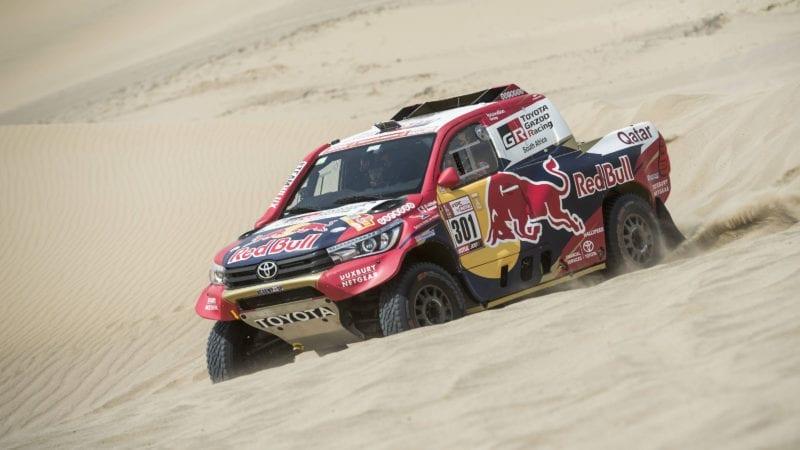 Nasser Al-Attiyah se impune în prima etapă din Dakar 2018