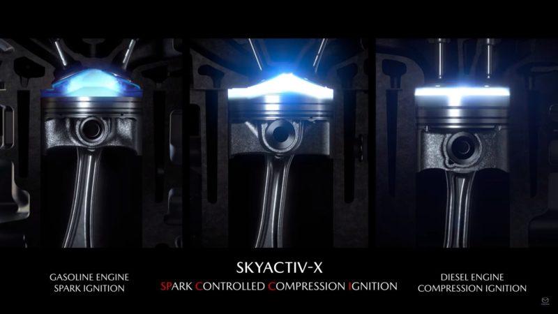 Mazda spune că motorul pe benzină cu aprindere prin compresie o să stea la baza viitoarelor modele cu propulsie hibridă