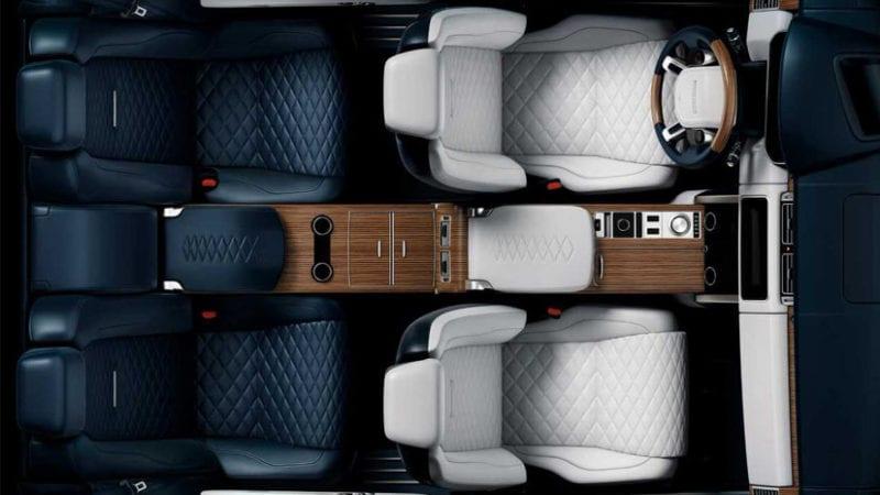 Range Rover SV Coupe – prima imagine cu interiorul viitorului SUV britanic
