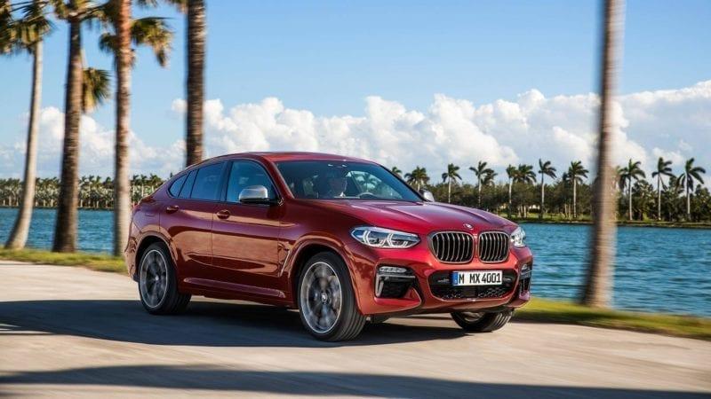 BMW a prezentat noua generație X4