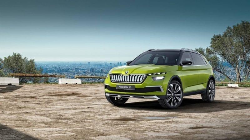 Skoda Vision X a fost prezentat în cadrul Salonului Auto de la Geneva
