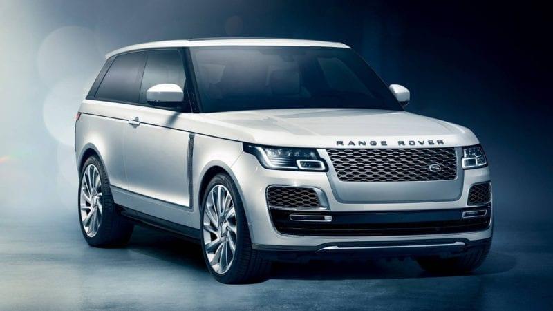 Range Rover SV Coupe a fost prezentat oficial