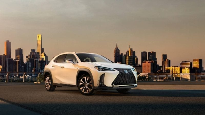 Lexus UX a debutat la Geneva