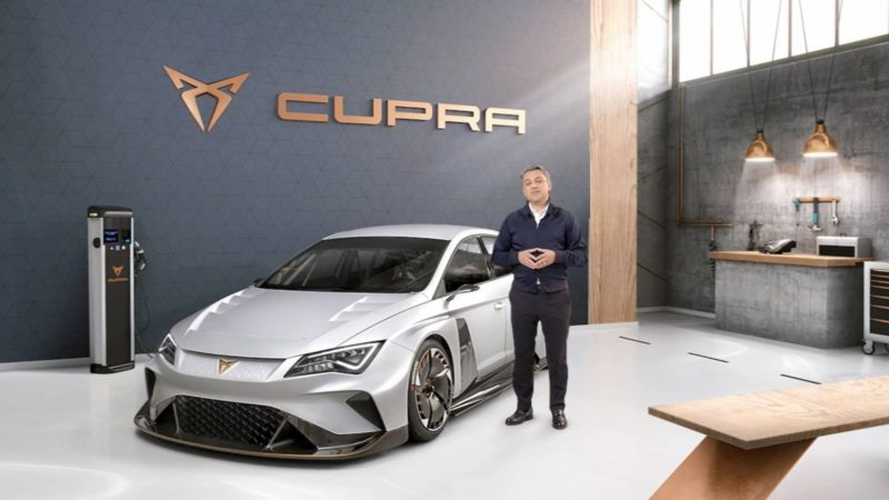 Cupra lansează e-Racer, un model electric destinat competițiilor de circuit