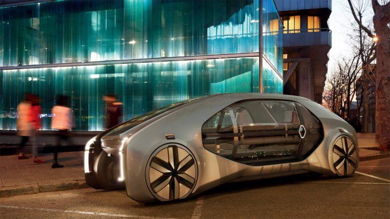 Renault EZ-GO – francezii au prezentat un nou concept de mobilitate urbană