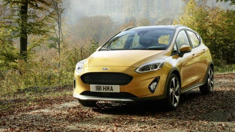 Ford Fiesta Active, crossover de oraș cu atitudine subcompactă