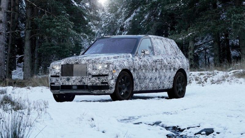 Rolls-Royce Cullinan va debuta pe 10 mai