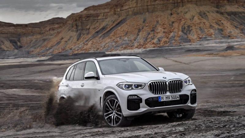 100 de comenzi ferme în România pentru noul BMW X5
