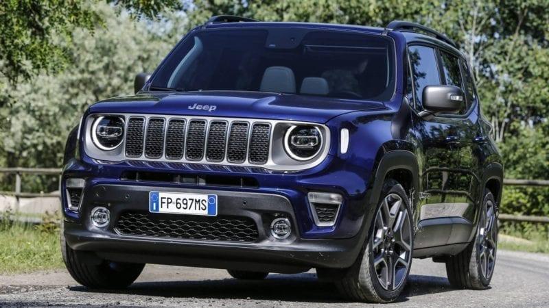 Jeep a publicat primele poze oficiale cu Renegade facelift