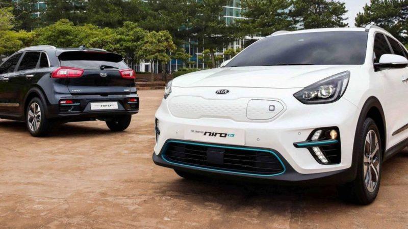 Kia Niro EV împrumută sistemul de propulsie de pe Hyundai Kona Electric