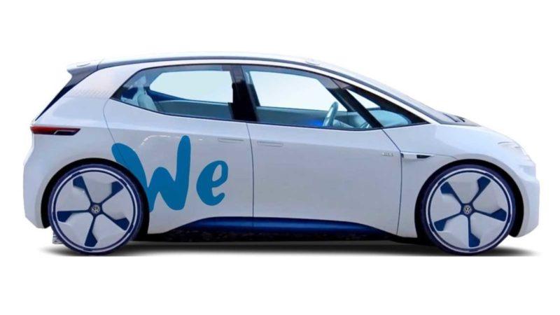 Din 2019, Volkswagen lansează un serviciu de car sharing cu mașini electrice