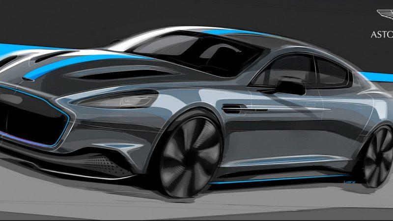 Aston Martin RapidE, primul model electric al constructorului britanic, se lansează în 2019