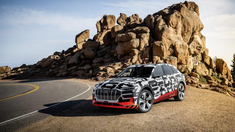 Test de recuperare pentru prototipul Audi e-tron și informații noi