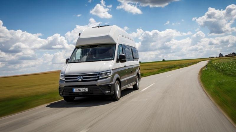 Volkswagen prezintă campervan-ul Grand California  – începutul unei noi dimensiuni