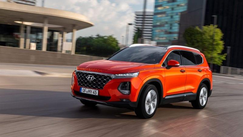 Noul Hyundai Santa Fe a ajuns in Romania
