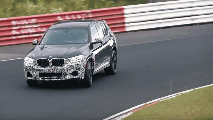 Viitorul BMW X3 M a fost surprins de fotografii spion în timpul testelor de la Nurburgring