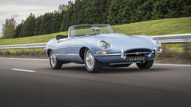 Jaguar E-Type renaște sub formă electrică din 2020