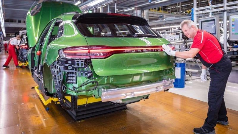 Start pentru producția de serie a lui Porsche Macan facelift