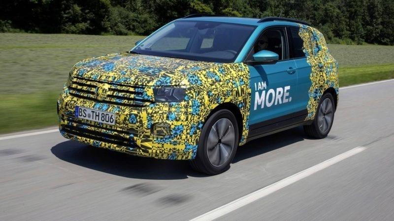 Volkswagen a publicat un teaser video cu viitorul SUV T-Cross