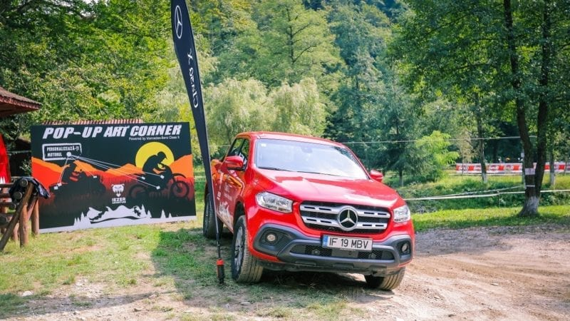 Mercedes-Benz Vans România, partener în cadrul competiției Iezer Adventure