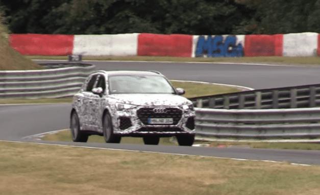 SUV-ul Audi RS Q3 este testat pe Nurburgring