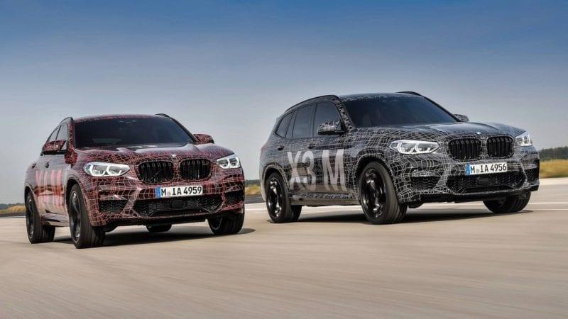 Debut sportiv pe Nurburgring – prima prezentare oficială pentru BMW X3 M şi BMW X4 M