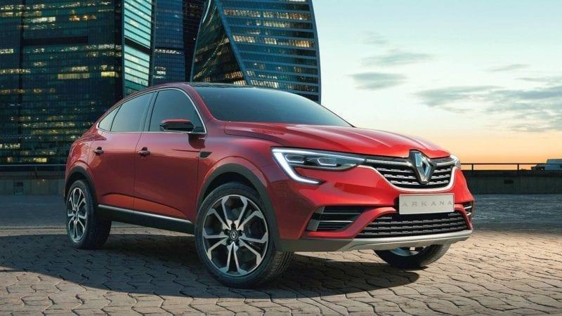 Renault a prezentat Arkana, o versiune de pre-serie a unui viitor SUV coupe