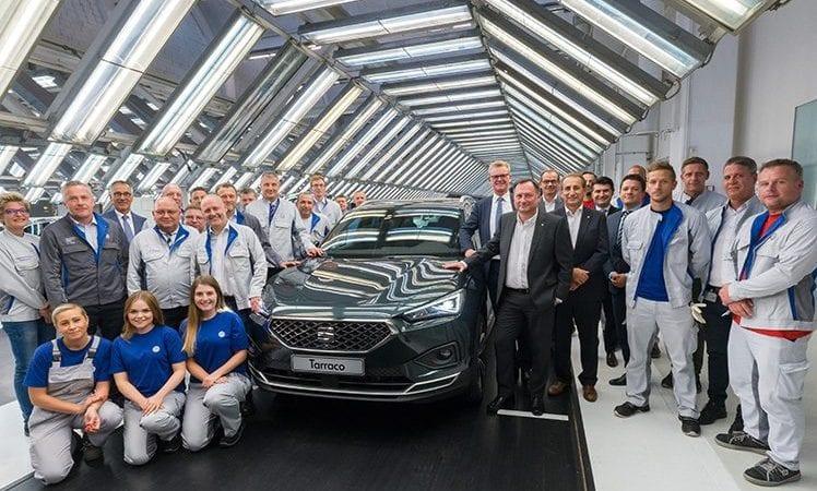 Primul exemplar Seat Tarraco a ieșit pe poarta fabricii Volkswagen din Wolfsburg