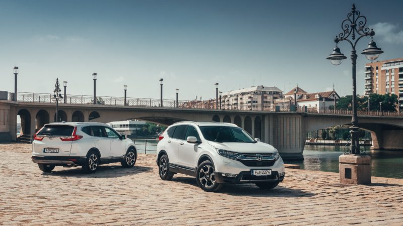 Noul Honda CR-V Hybrid poate fi comandat și în România