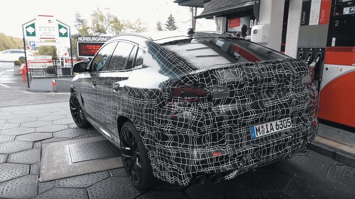 Noua generație BMW X6 este filmată în timpul testelor