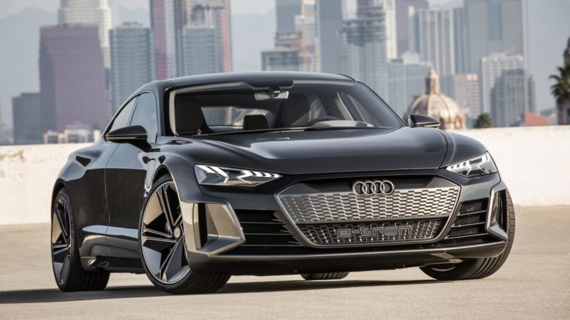 Audi e-tron GT a fost prezentat la Los Angeles