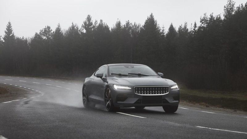 Fotografii noi cu viitorul coupe hibrid Polestar 1