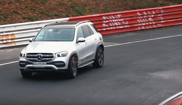 Viitorul Mercedes-Benz GLE PHEV, spionat pe circuitul de la Nurburgring
