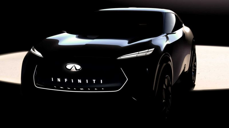 Primul teaser cu viitorul crossover electric pregătit de Infiniti